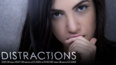 "In Alis Locanta's ""Distractions,"" Luna is home alone — which, not coincidentally, is the film's sub-title — and killing time on a lazy afternoon. As she clicks through the channels on the television s"