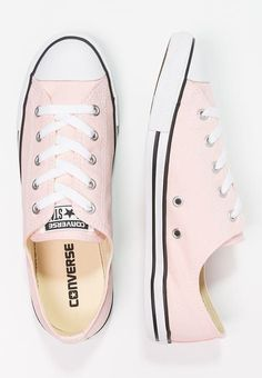 Converse CHUCK TAYLOR ALL STAR DAINTY OX - SEASONAL CANVAS - Baskets basses - vapor pink rose: 65,00 € chez Zalando (au 10/03/17). Livraison et retours gratuits et service client gratuit au 0800 915 207. Got mine today!!