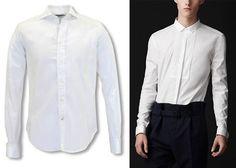 El secreto para que un hombre elija la camisa blanca adecuada.