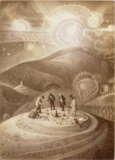 Shaun Tan, The Arrival Truly my favourite illustrator of all time. True Story!