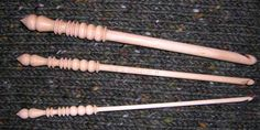 Brittany birch wood knitting needles and crochet hooks. I will never use anything else...