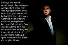 Christopher Nolan. Brilliant.