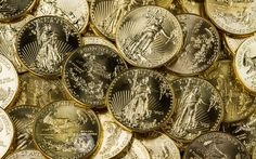 American Gold Eagles are the official gold bullion coin of the United States. Backed by the U. Government these coins have become a standard to which gold bullion coins are held. Gold Eagle Coins, Gold And Silver Coins, Silver Bars, Bullion Coins, Gold Bullion, Old Coins For Sale, American Eagle Gold Coin, Gold Sovereign, Gold Coin Necklace