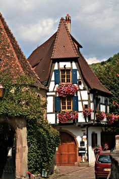 KAYSERSBERG - Carte plan hotel ville de Kaysersberg 68240 - Cartes France.fr