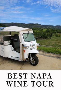 Looking for the best Napa Wine Tour? This eco-friendly tour is chic, fun, and full of memories. Finish off your day with dinner! A tuk tuk or Jeep 4x4 take you to off the beaten tracks - a safe and eco-friendly tour!