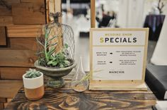 wedding show special signs