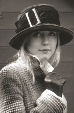Everyday smart cloche hat by Sarah Crozier from archive collection. www.sarahcrozier.com