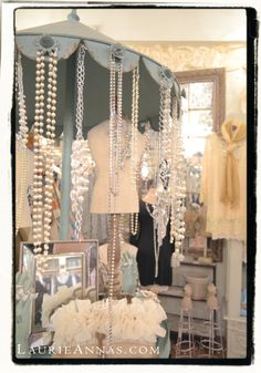 More Bling at LaurieAnna's Vintage Home