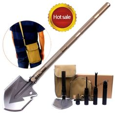Military Tactical Multifunction Shovel Folding Spade Tool Equipment
