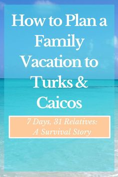 Planning family travel? Turks & Caicos is a fantastic Caribbean island with the best beaches and activities for your family vacation!