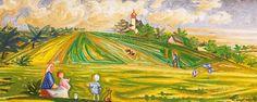 Josef Čapek - V Červnu (Kraj) - vydraženo za milonů CZK. Scene, Painting, Fictional Characters, Art, Art Background, Painting Art, Paintings, Kunst