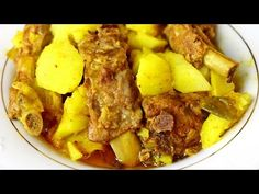 Buena cocina mediterranea: Guiso de patatas con costillas