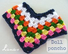 I could not stop at one poncho …and I made a second one… No me conformé solamente con un poncho …y me hice otro… 1. Ponc...