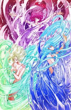 Manga Drawing, Manga Art, Anime Art, Arte Sailor Moon, Magic Knight Rayearth, Mecha Anime, Old Anime, Ecchi, Animation
