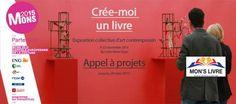 """✪ Exposition collective d'art contemporain intitulée """"Crée-moi un livre"""" (Belgique)"""