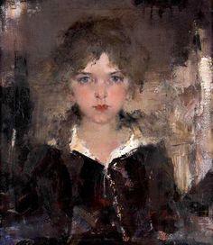 Chasingtailfeathers  Nicolai Fechin   (Russian-American 1881–1955)