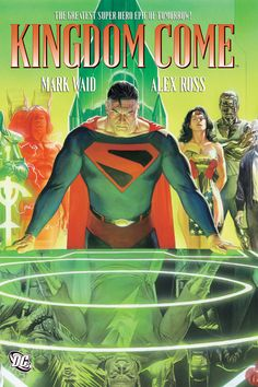 An incredible graphic novel set in the future of the DC Universe, Kingdom Come is a modern milestone in super-hero comics. This grim tale of youth versus experience and tradition versus change asks what defines a hero in a world spinning inexorably out of control. Superman, Batman, Wonder Woman and their peers find themselves up against a new uncompromising generation, and their final conflict will determine nothing less than the future of the planet.