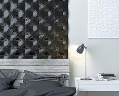 Organic Geometric Concrete Tile by KAZA Concrete