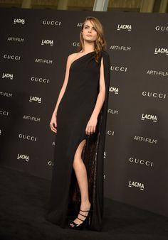 Cara Delevingne Photos: 2014 LACMA Art + Film Gala Honoring Barbara Kruger And Quentin Tarantino Presented By Gucci - Red Carpet