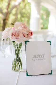 Southern sayings for a sweet southern wedding - too cute! {@pinriverland}