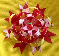 Adorable, Handmade Hair Bow. Perfect for girls of all ages!