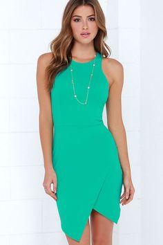 Rocksteady and Ready Sea Green Bodycon Dress at Lulus.com!