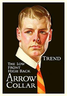 LEYENDECKER arrow collar ad
