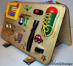 Occupé planche jouet pour jouet occupé en bois autisme