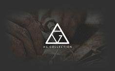 "Check out new work on my portfolio: ""Jewellery (AG) logo + branding""… - Graphic Hit Typography Logo, Logo Branding, Fuente Art Deco, Lab Logo, Tiffany Art, Real Estate Logo Design, Fashion Design Sketchbook, Jewelry Logo, Letter Logo"