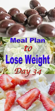 meal plan to lose weight day 34