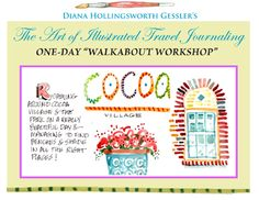 BrevardArtNews: One-Day Walkabout Workshop with Diana Hollingsworth Gessler