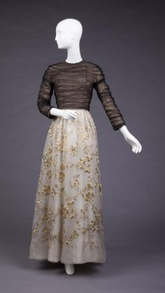 Evening Ensemble - Cristobal Balenciaga, 1953