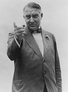 Warren G. Harding was elected the 29th U.S. President in 1920. For the 1st time in American history, newly franchised women were able to take part in that election.