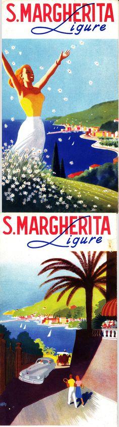 Brochure promozionale di Santa Margherita Ligure (Puppo, 1948)