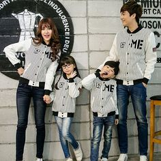 Find More Family Matching Outfits Information about Boys Girl's Family Fitted… Family Picture Outfits, Couple Outfits, Matching Family Outfits, Kids Outfits, Father And Son Clothing, Couple With Baby, Hip Hop Costumes, Daddy And Son, Mother Daughter Outfits