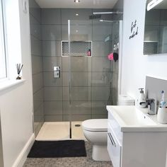 Tips, techniques, together with guide with regards to obtaining the absolute best outcome as well as attaining the optimum usage of walk In shower small bathroom Small Wet Room, Small Shower Room, Wet Room Shower, Small Bathroom With Shower, Small Bathroom Ideas Uk, Walk In Shower Tray, Bathroom Wet Wall, Downstairs Bathroom, Loft Bathroom