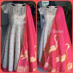 Simple Kurti Designs, Blouse Designs, Indian Attire, Indian Wear, Mom Daughter Matching Dresses, Kalamkari Dresses, Churidar Designs, Anarkali Dress, Indian Designer Wear
