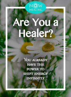 Are You a Healer? - Now Healing Easy Meditation, Sore Feet, Spiritual Growth, Spiritual Awareness, Alternative Medicine, Positive Attitude, How To Do Yoga, Healer