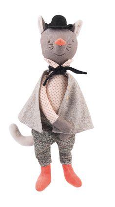 The Gallant Cat doll