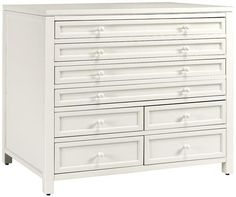 Home Decorator - 04640 - Martha Stewart Living Craft Space Eight-Drawer Flat-File Cabinet.  Comes in a great green! Only $399!
