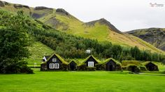 Turf Village by PhotonPhotography -Viktor Lakics on 500px Traditional Icelandic houses in the South