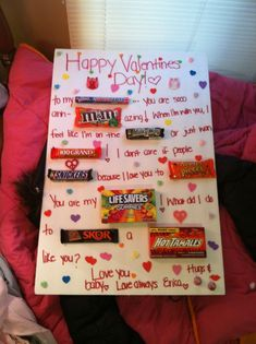 Candy Card | 23 DIY Valentines Cards For Him