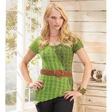 Yin-Yang Tunic Knit Pattern - Willow Yarns