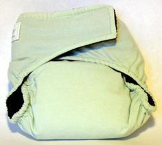 Set of 5 ChocMint Cloth Baby Diapers  All in One by LuggageDiva, $25.00
