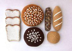 Diy Crochet And Knitting, Crochet Food, Crochet Art, Cute Crochet, Crochet For Kids, Crochet Crafts, Yarn Crafts, Knitting Yarn, Crochet Projects