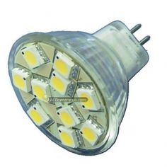 The MR11 LED mini spotlight, bright white is suitable for any general purposes, low voltage (12V) lighting for both domestic or industrial use.