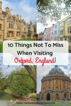 Oxford is the perfect City to visit on a day trip from London by train or by bus. Once you're there there is a lot to do. There are many tourist attractions but here are 10 things not to miss in Oxford that are a bit different and unique! Europe Destinations, Europe Travel Tips, Places To Travel, Places To Visit, Travel Uk, Travelling Tips, Vacation Travel, Cheap Travel, Travel Packing