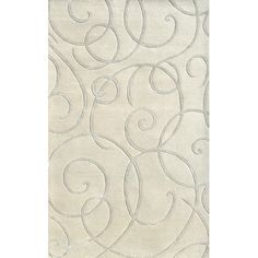 I pinned this Dijon Rug in Ivory from the Monroe Park Studios event at Joss and Main!
