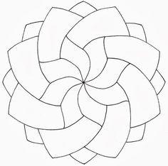 Zentangle Patterns for Beginners | learn a new Zentangle pattern Archives | www.tanglebright.comwww ... Mandala Art