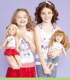 Dollie & Me: Matching Styles for Girls and Dolls